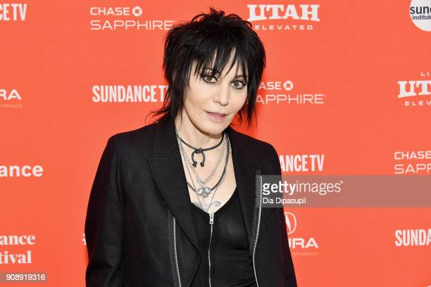 Singer Joan Jett attends the 'Bad Reputation' Premiere during the 2018 Sundance Film Festival at The Marc Theatre on January 22 2018 in Park City Utah