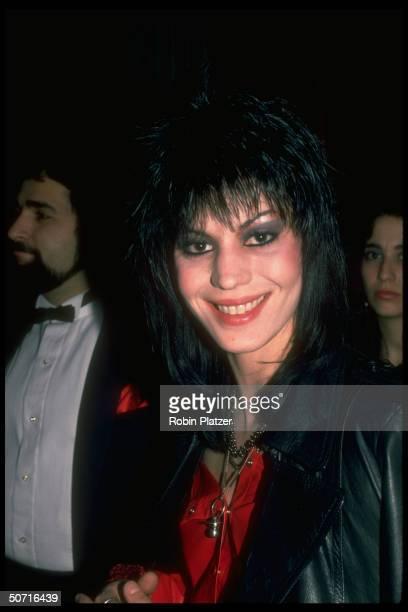 Singer Joan Jett