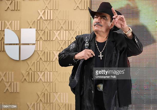 Singer Joan Sebastian arrives at the 13th annual Latin GRAMMY Awards held at the Mandalay Bay Events Center on November 15 2012 in Las Vegas Nevada