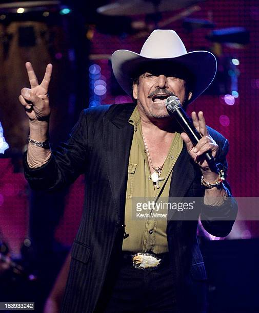 Singer Joan Sebastian performs at the Billboard Mexican Music Awards at the Dolby Theatre on October 9 2013 in Los Angeles California