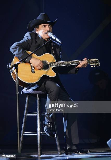 Singer Joan Sebastian performs onstage at the 7th Annual Latin Grammy Awards at Madison Square Garden November 2 2006 in New York City