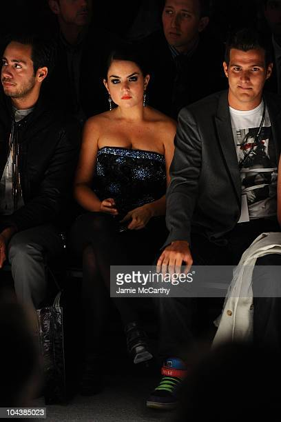 Singer Joanna Levesque attends the Richie Rich Spring 2011 fashion show during MercedesBenz Fashion Week at The Studio at Lincoln Center on September...