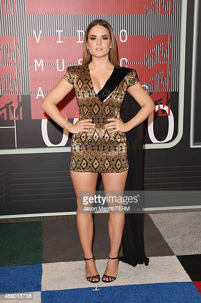 Singer Joanna Noëlle Blagden Levesque JoJo attends the 2015 MTV Video Music Awards at Microsoft Theater on August 30 2015 in Los Angeles California