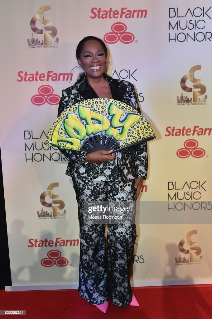 Singer Jody Watley arrives at the 2017 Black Music Honors at Tennessee Performing Arts Center on August 18, 2017 in Nashville, Tennessee.