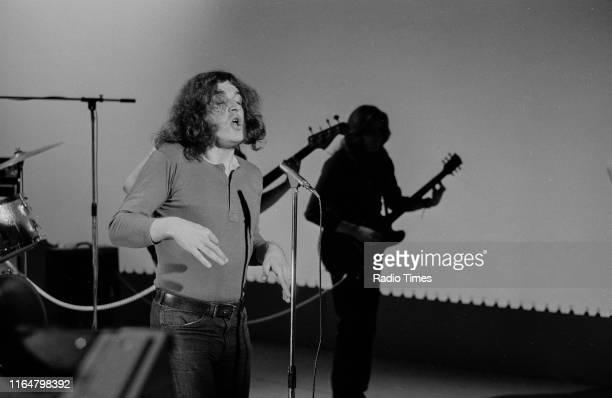 Singer Joe Cocker performing, February 15th 1970.