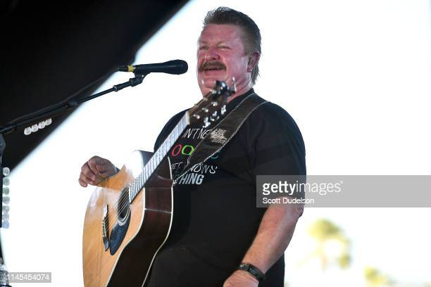 Singer Joe Diffie performs onstage during Day 1 of the 2019 Stagecoach Country Music Festival on April 26 2019 in Indio California