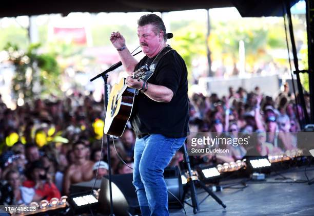 Singer Joe Diffie performs onstage during Day 1 of the Stagecoach Music Festival on April 26 2019 in Indio California