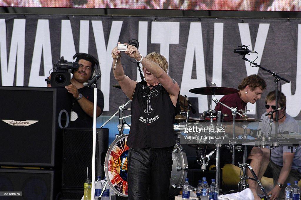 Live 8 Philadelphia - Show : News Photo
