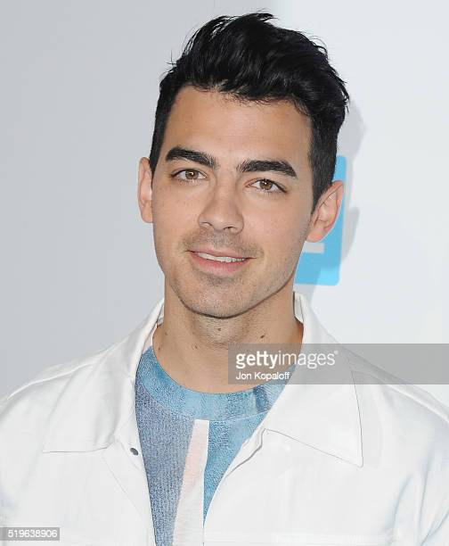 Singer Joe Jonas arrives at WE Day California at The Forum on April 7 2016 in Inglewood California