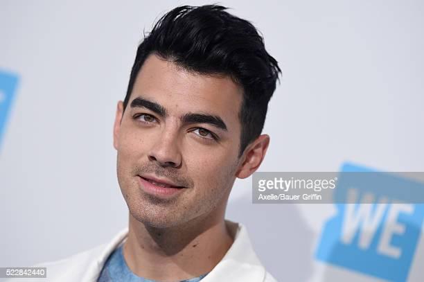 Singer Joe Jonas arrives at WE Day California at The Forum on April 7 2016 in Inglewood California
