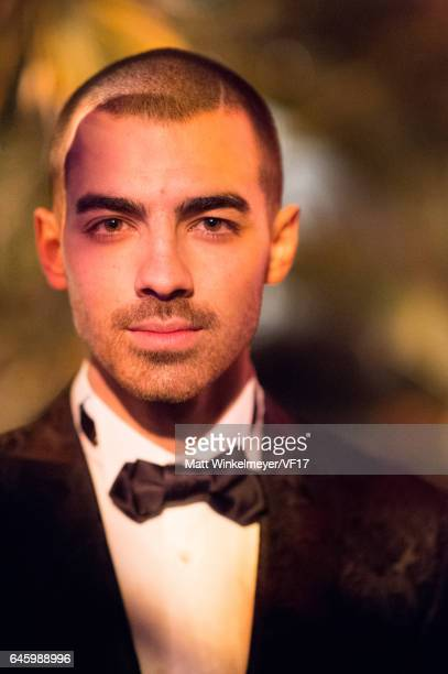 Singer Joe Jonas attends the 2017 Vanity Fair Oscar Party hosted by Graydon Carter at Wallis Annenberg Center for the Performing Arts on February 26...