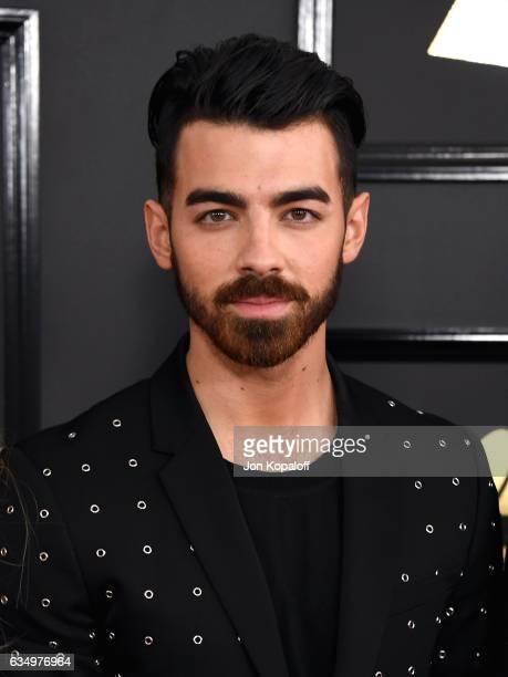 Singer Joe Jonas attends The 59th GRAMMY Awards at STAPLES Center on February 12 2017 in Los Angeles California