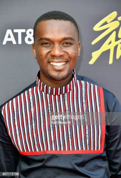 Singer Joe Mettle arrives at the 32nd annual Stellar Gospel Music Awards at the Orleans Arena on March 25, 2017 in Las Vegas, Nevada.