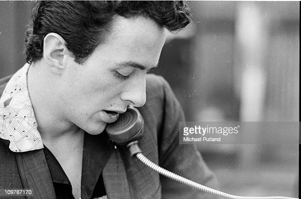Singer Joe Strummer of British punk group The Clash in New York in 1978.