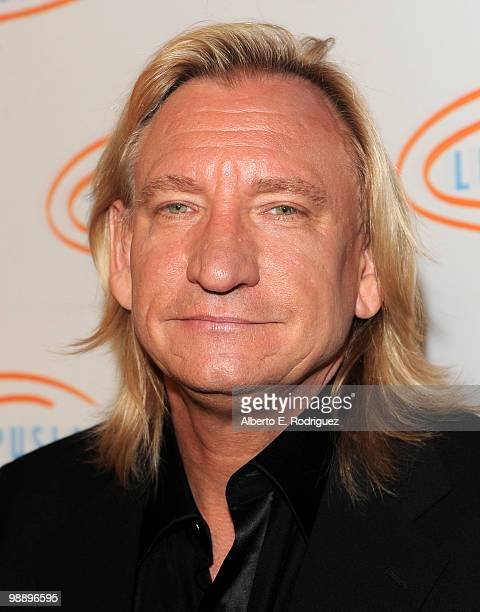 Singer Joe Walsh arrives at the 10th Annual Lupus LA Orange Ball on May 6 2010 in Beverly Hills California
