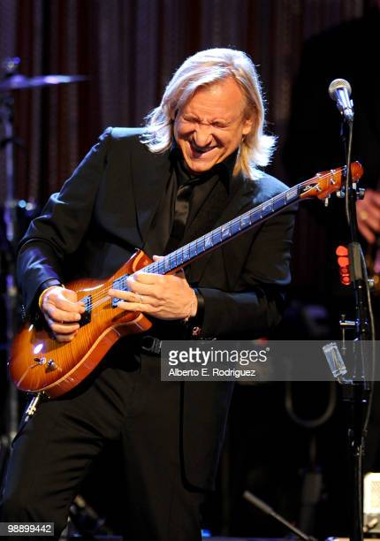 Singer Joe Walsh performs at the 10th Annual Lupus LA Orange Ball on May 6 2010 in Beverly Hills California