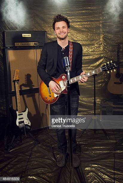 Singer Joel Crouse poses for a portrait at the Academy of Country Music Awards for People Magazine on April 6 2014 in Las Vegas Nevada