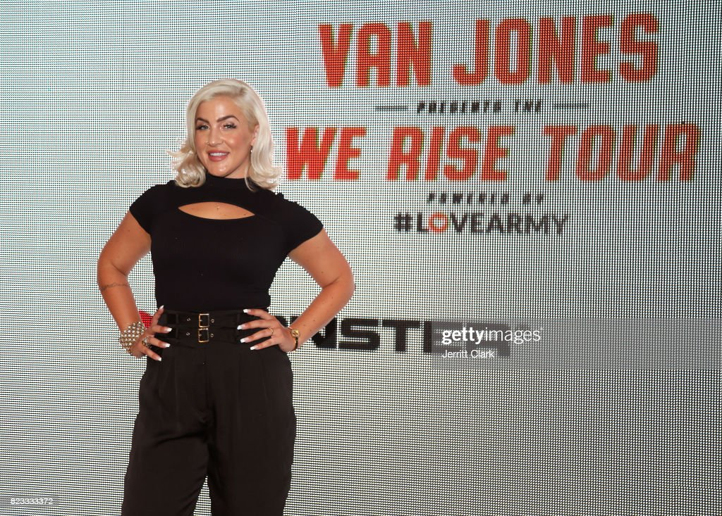 Singer Joelle James attends VAN JONES WE RISE TOUR powered by #LoveArmy at Hollywood Palladium on July 26, 2017 in Los Angeles, California.