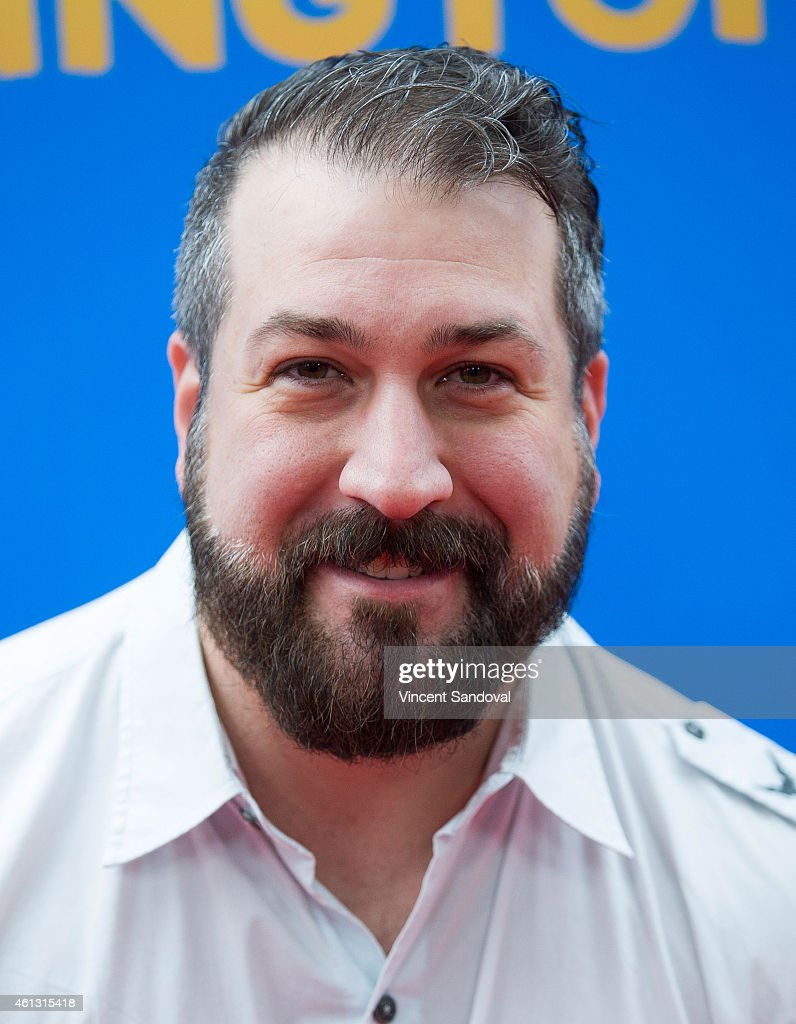Singer Joey Fatone attends the Los Angeles premiere of 'Paddington' at TCL Chinese Theatre IMAX on January 10, 2015 in Hollywood, California.