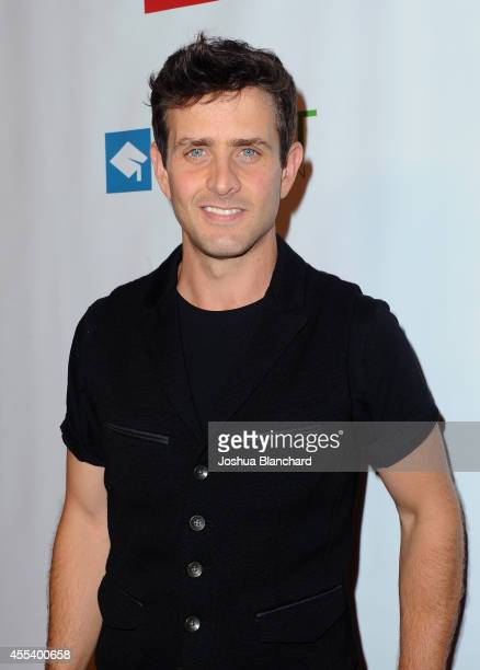 Singer Joey McIntyre arrives at Point Foundation's Voices On Point Gala at the Hyatt Regency Century Plaza on September 13 2014 in Los Angeles...