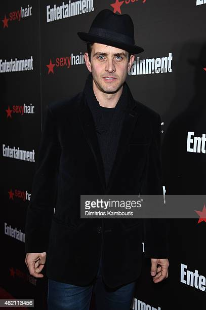 Singer Joey McIntyre attends Entertainment Weekly's celebration honoring the 2015 SAG awards nominees at Chateau Marmont on January 24 2015 in Los...