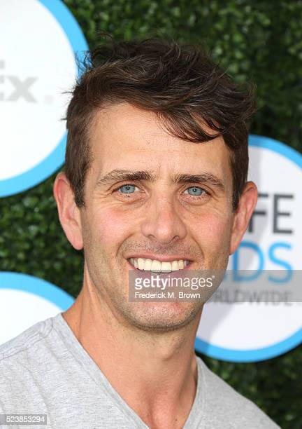 Singer Joey McIntyre attends Safe Kids Day at Smashbox Studios on April 24 2016 in Culver City California