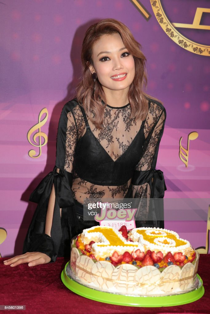 "Joey Yung Attends ""50 Golden Classics"" Event In Hong Kong"