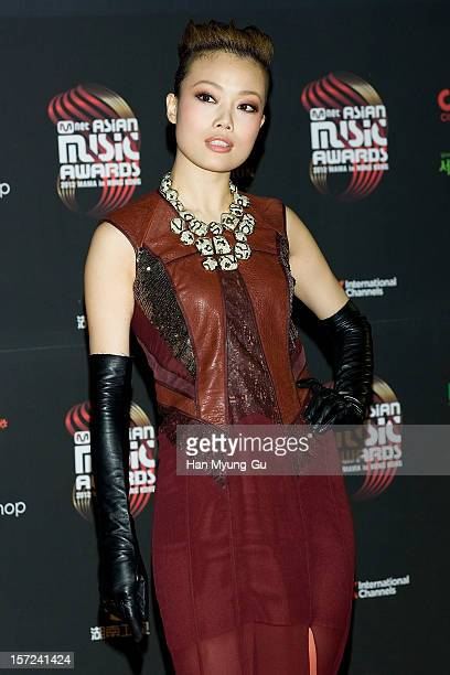 Singer Joey Yung attends the 2012 Mnet Asian Music Awards Red Carpet on November 30 2012 in Hong Kong Hong Kong