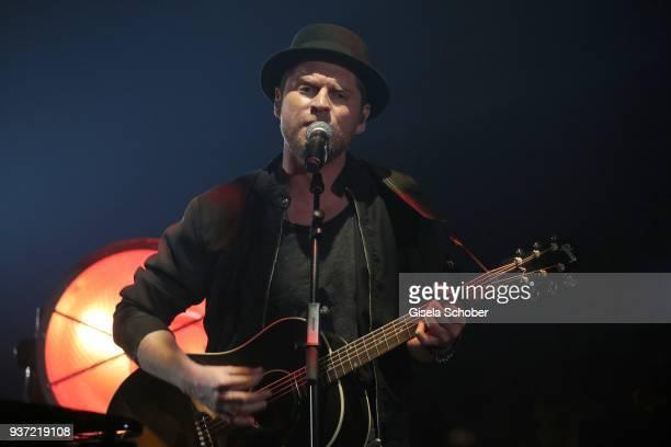 Singer Johannes Oerding during the Radio Regenbogen Award 2018 at Europapark Rust on March 23 2018 in Rust Germany