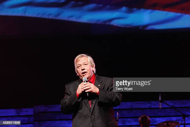 Singer John Conlee performs at the 2014 Inspirational Country Music Awards on November 13 2014 in Nashville Tennessee