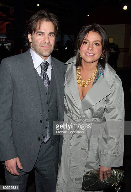 Singer John Cusimano and wife and TV Personality Rachel Ray attend The Food Bank For NYC's 5th Annual CanDo Awards at Chelsea Piers' Pier Sixty in...