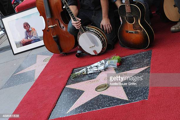 Singer John Denver honored posthumously with the 2531st star on the Hollywood Walk of Fame on October 24 2014 in Hollywood California
