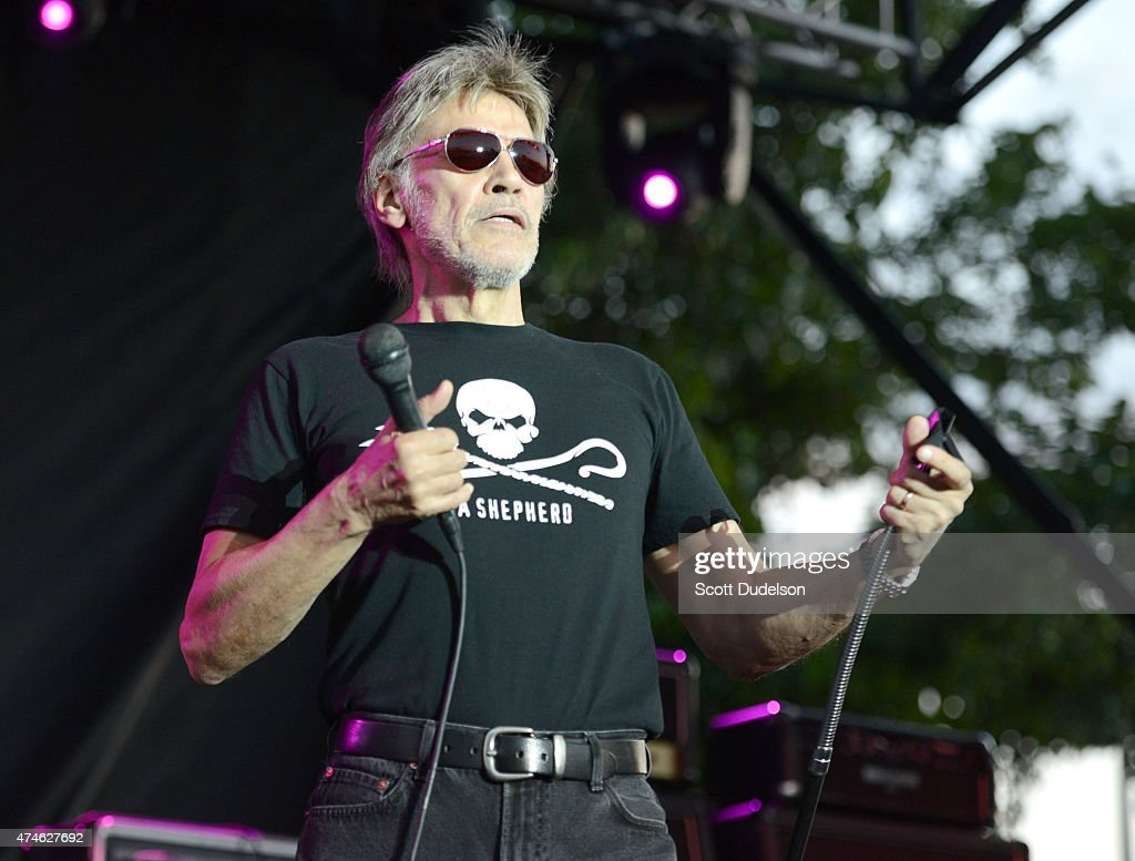 Singer John Kay of Steppenwolf performs onstage on May 23