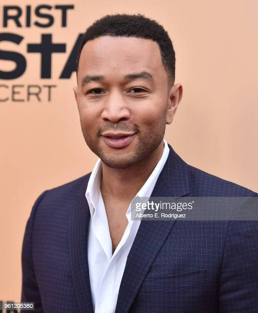 Singer John Legend attends an FYC Event for NBC's Jesus Christ Superstar Live in Concert at the Egyptian Theatre on May 21 2018 in Hollywood...