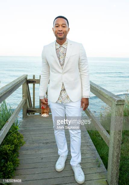 Singer John Legend attends Hamptons Magazine Chic at the Beach with John Legend on July 13, 2019 in Montauk, New York.