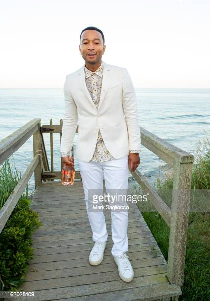 Singer John Legend attends Hamptons Magazine Chic at the Beach with John Legend on July 13 2019 in Montauk New York