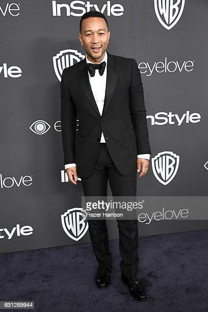 Singer John Legend attends the 18th Annual PostGolden Globes Party hosted by Warner Bros Pictures and InStyle at The Beverly Hilton Hotel on January...