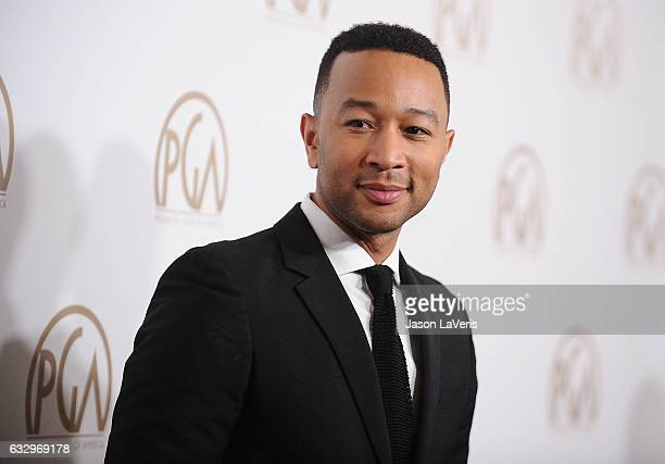 Singer John Legend attends the 28th annual Producers Guild Awards at The Beverly Hilton Hotel on January 28 2017 in Beverly Hills California