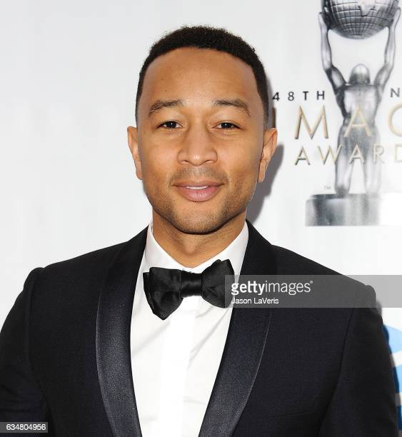 Singer John Legend attends the 48th NAACP Image Awards at Pasadena Civic Auditorium on February 11 2017 in Pasadena California