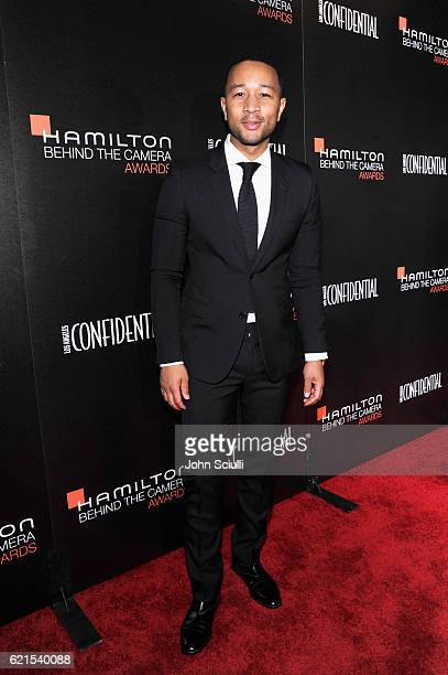 Singer John Legend attends the Hamilton Behind The Camera Awards presented by Los Angeles Confidential Magazine at Exchange LA on November 6 2016 in...