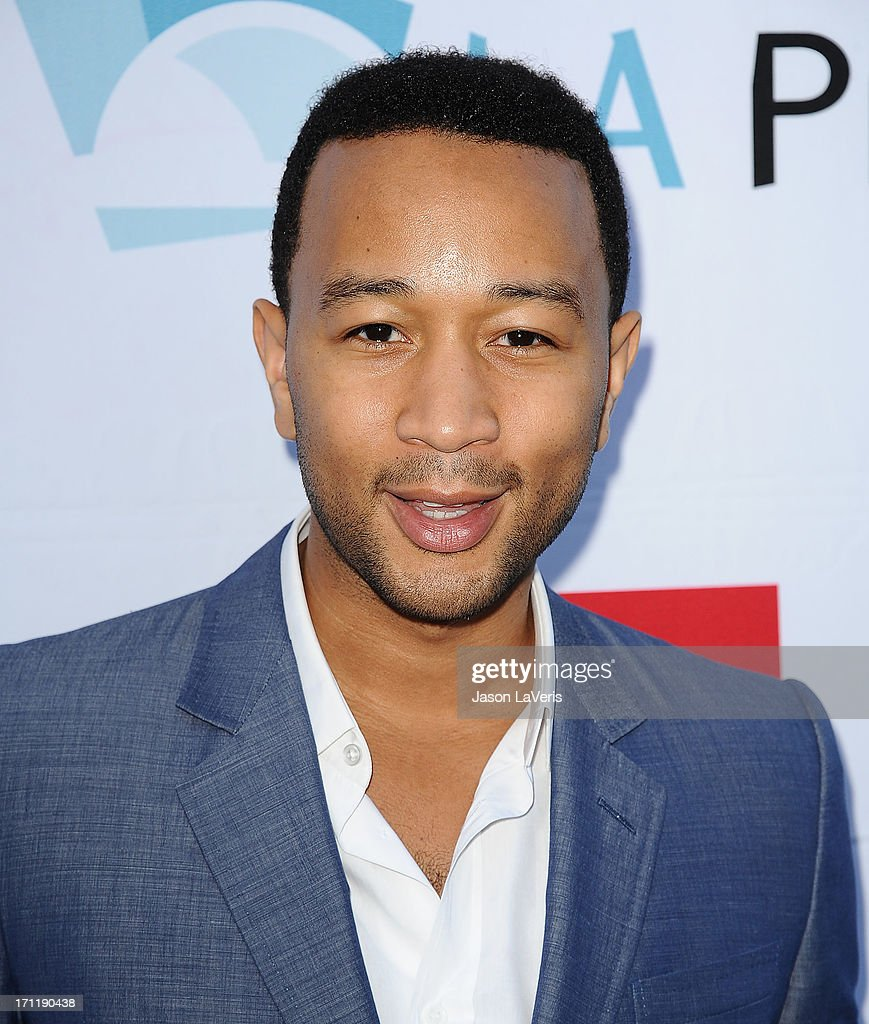Singer John Legend attends the Hollywood Bowl opening night celebration at The Hollywood Bowl on June 22, 2013 in Los Angeles, California.