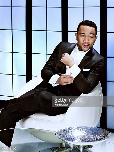 Singer John Legend is photographed for Ebony Magazine on August 30 2010 in New York City