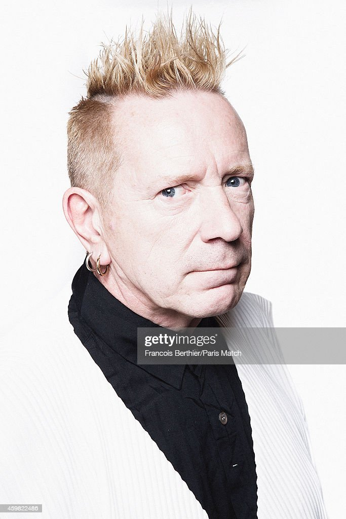 John Lydon, Paris Match Issue 3419, December 3, 2014