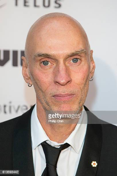 """Singer John Mann arrives on the red carpet for his film """"Spirit Unforgettable"""" at The Centre for Performing Arts during the 35th Vancouver..."""