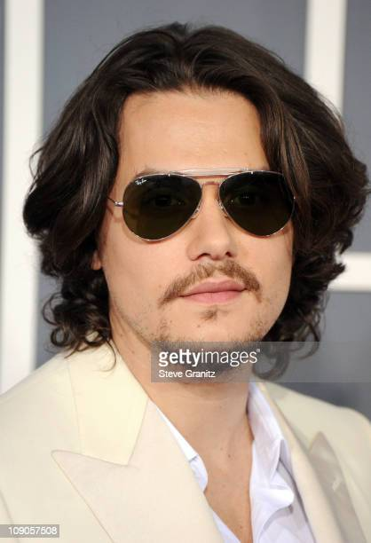 Singer John Mayer arrives at The 53rd Annual GRAMMY Awards held at Staples Center on February 13 2011 in Los Angeles California