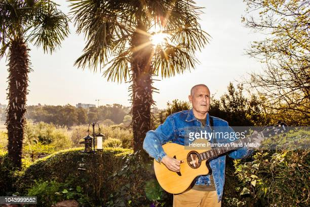 Singer Johnny Clegg is photographed for Paris Match at his home in Johannesburg SouthAfrica on August 31 2018
