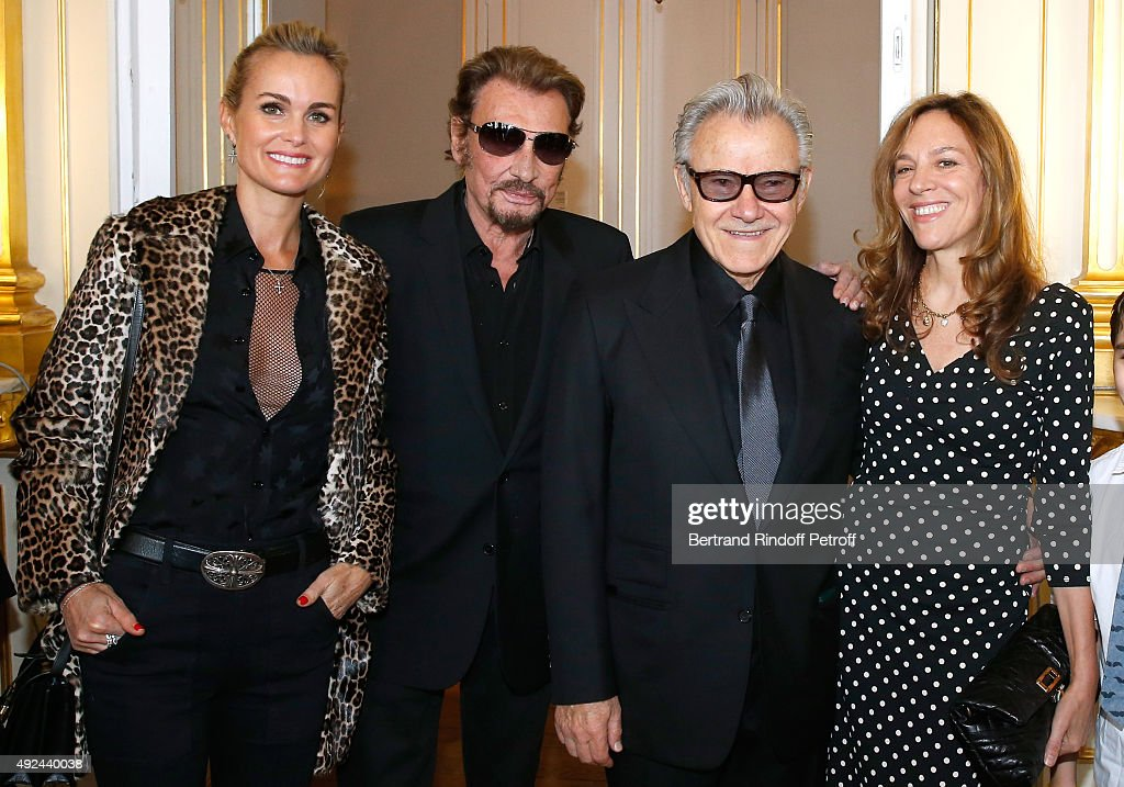 Harvey Keitel Receives The Medal Of Commander Of Arts And Letters In Paris