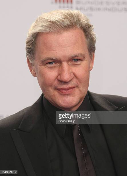 Singer Johnny Logan attends the 2009 Echo Music Awards at the O2 Arena on February 21 2009 in Berlin Germany
