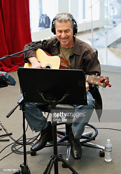 Singer Johnny Rivers performs on SiriusXM's Outlaw Country at the SiriusXM Studio on September 27 2012 in New York City