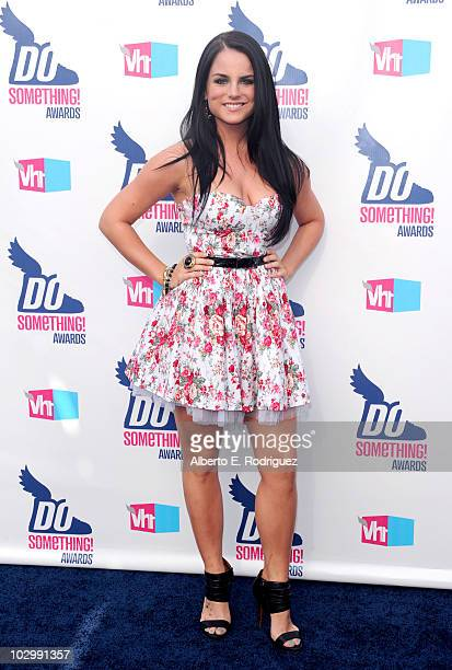 Singer Jojo arrives at the 2010 VH1 Do Something Awards held at the Hollywood Palladium on July 19 2010 in Hollywood California